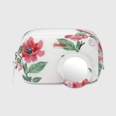 Cath Kidston Classic Box Make-Up Case Anemone Bouquet Off White