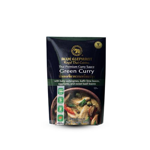 BLUE ELEPHANT Thai Premium Curry Sauce Green Curry 300g