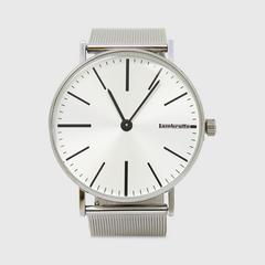 Lambretta Watch Cesare42 Silver Mesh