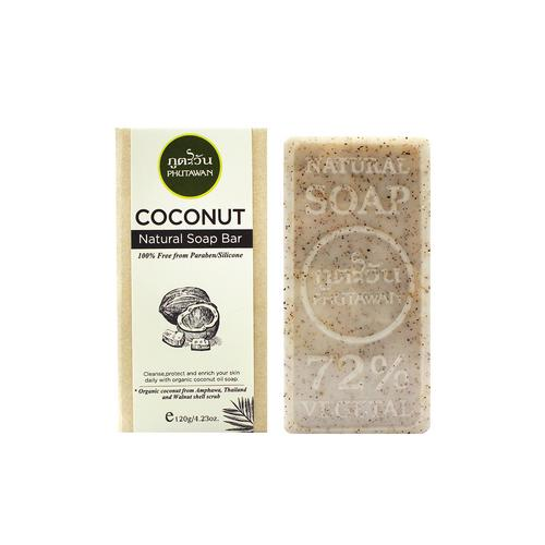 Phutawan Coconut natural soap bar 120 g