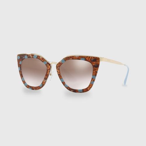 PRADA Cinéma Evolution Women Sunglasses 0PR 53SS KJO4O0 (52 MM)