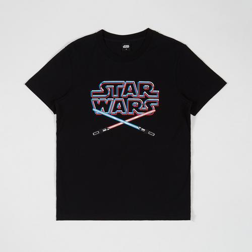 STAR WARS Men T-Shirt Starwars Black-M