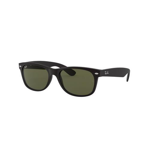 RAYBAN Black Rubber Nylon Sunglasses 0RB2132F62258