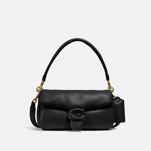蔻驰COACH Pillow Tabby Shoulder Bag 26 - Black