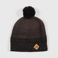 The North Face ANTLERS BEANIE - TNF BLACK/GRAPHITE