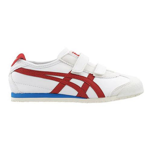 Onitsuka Tiger  MEXICO 66 BAJA PS 1184A055.100.1  WHITE/CLASSIC RED SIZE:  32.5
