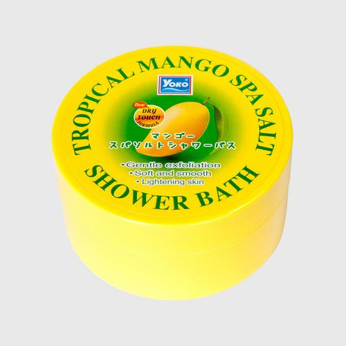 YOKO TROPICAL MANGO SPA SALT SHOWER BATH 240g.