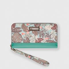 FEELFREE GEAR WATERPROOF WALLET TROPICAL (Organic Teal)