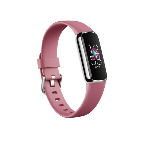 Fitbit Luxe Firness Tracker - Orchid / Platinum Stainless Steel