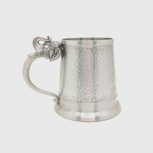 BANGKOK PEWTER Mug Hammered