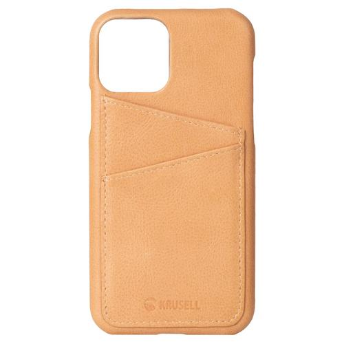 KRUSELL Sunne Card Cover iPhone 11 Pro Max - Vintage Nude