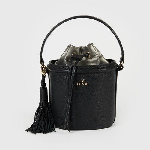 RAINBO MINI BUCKET (BLACK)