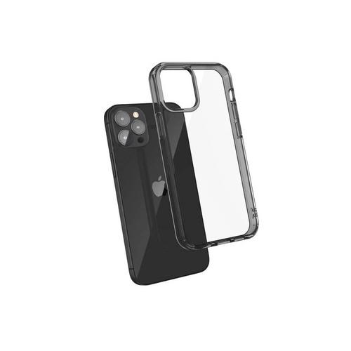 "JTLEGEND Casing for iPhone 12 Pro Max (6.7"") Hybrid Cushion DX Case - Black"