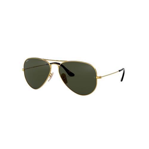 RAYBAN Gold Metal Sunglasses 0RB302518162