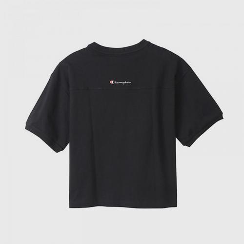 CHAMPION Women T-Shirt Black - Size M