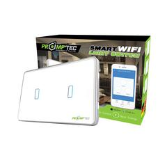 PROMPTEC SMART WIFI LIGHT SWITCH 2 GANG