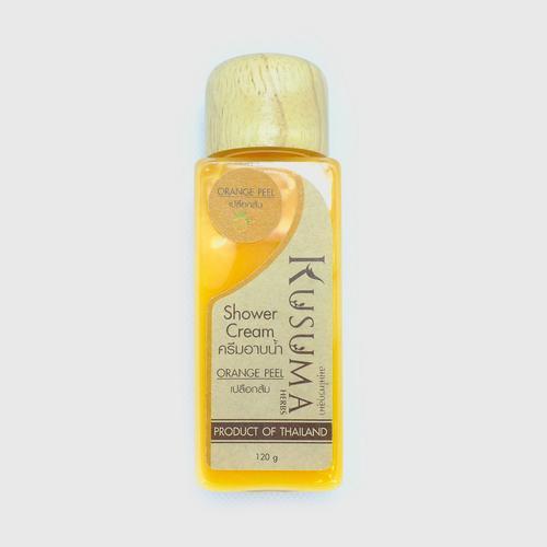 Kusuma Herbs - Orange Peel Shower Cream - 100 g.