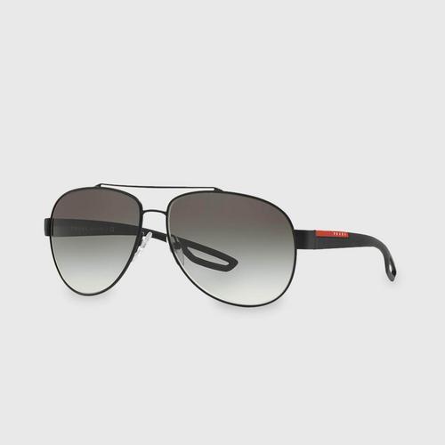 PRADA SPORT Double bridge Men Sunglasses 0PS 55QS DG00A7 (62 MM)