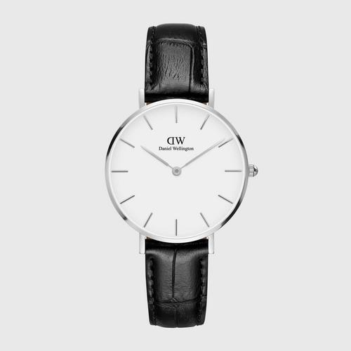 DANIEL WELLINGTON Petite Reading Silver 32mm