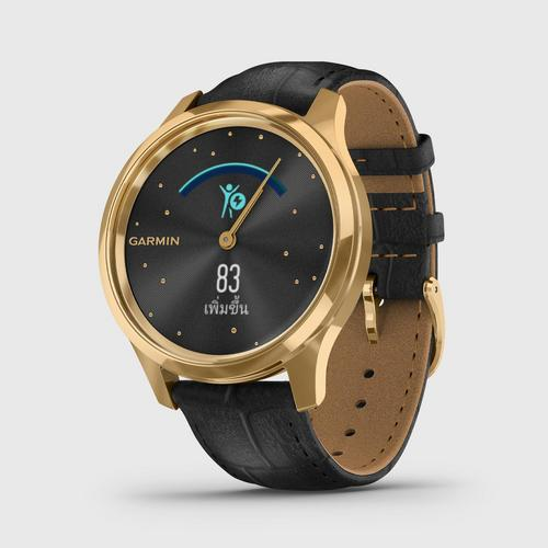 GARMIN Vívomove Luxe - Gold Black