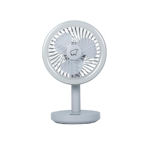 NIKKO Rechargeable and Hanging Fan (Grey)