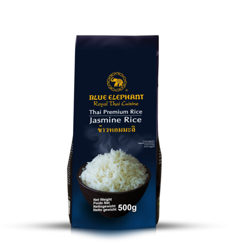 BLUE ELEPHANT THAI JASMINE RICE 500 G.