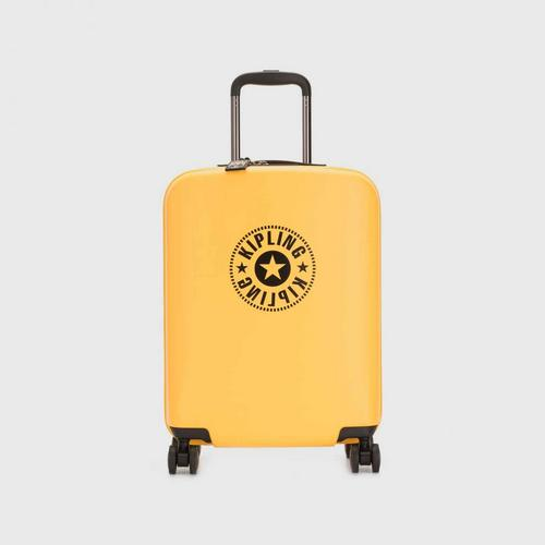 KIPLING Curiosity S Wheeled Luggage - Vivid Yellow