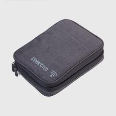 Troika Connected Pocket Organiser Dark grey