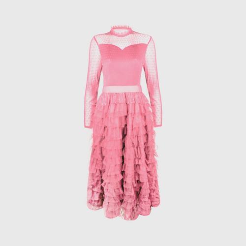SHEENICHI PLEATS The Duchess dress Soft Pink