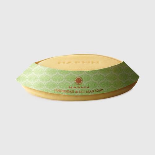 HARNN Lemongrass & Rice Bran Soap 100 G.