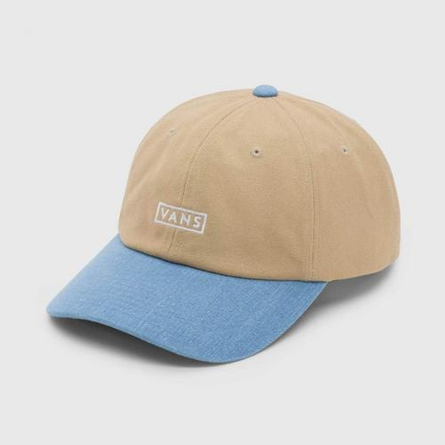 VANS Curved Bill Jockey - Khaki/Dress Blue