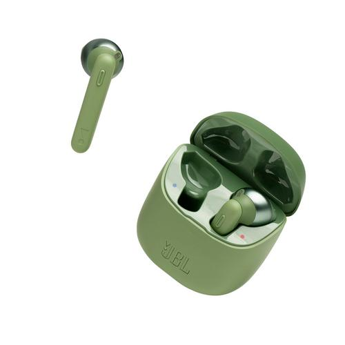 JBL Tune T220 True Wireless Earbuds Green