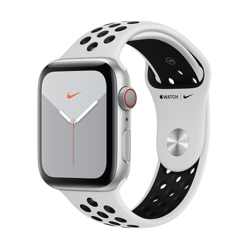 Apple Watch Series 5 GPS+Cellular Nike Silver Aluminum Sport Band