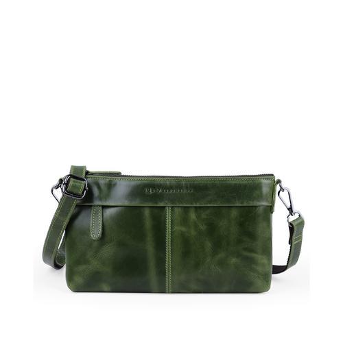Me Phenomenon  S CROSS CLUTCH&SHOULDER BAG Green