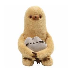 "Pusheen with Sloth Plush Stuffed Animal 12"""