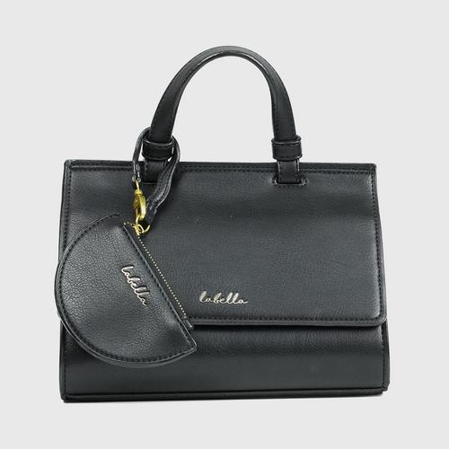 LABELLA ORGUS HANDBAG - BLACK