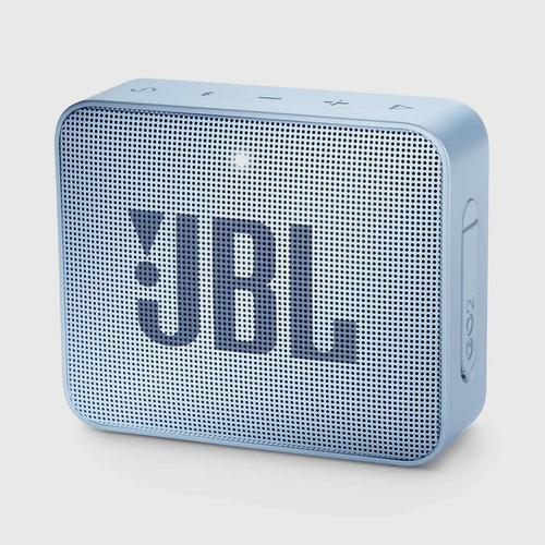 JBL GO 2 Portable Bluetooth Speaker (Cyan)