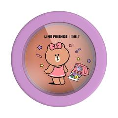 MILLE Line Friends l Mille Lovable Blusher 5g #03 Choco