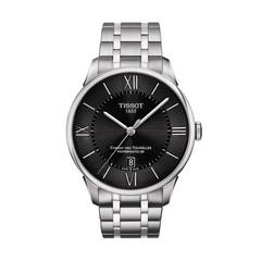 TISSOT Chemin Gent Steel 42mm (Black Dial)