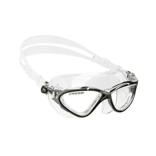 科越思 (Cressi) Planet 游泳目镜 - 黑/银色