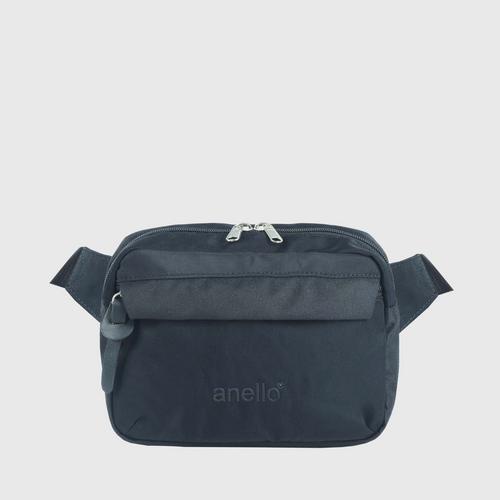 ANELLO OS-S058-NOSTALGIC Reg. Waist bag-BLACK