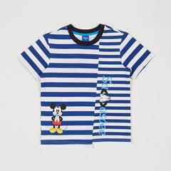 Disney Boy T-Shirt Mickey-Sawasdee Strips-S