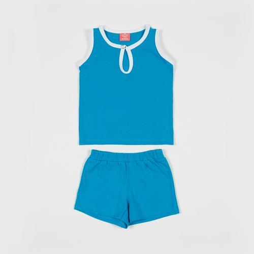 NANITA Kids Clothing Set P015 - Blue - S