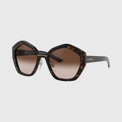 PRADA 0PR 08XS Havana/Brown Gradient Lens (2AU6S1) Sunglasses