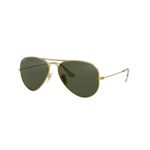 RAYBAN AVIATOR Green Sunglasses