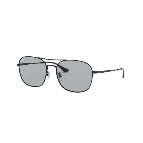 RAYBAN Black Metal Sunglasses 0RB3613D002/158