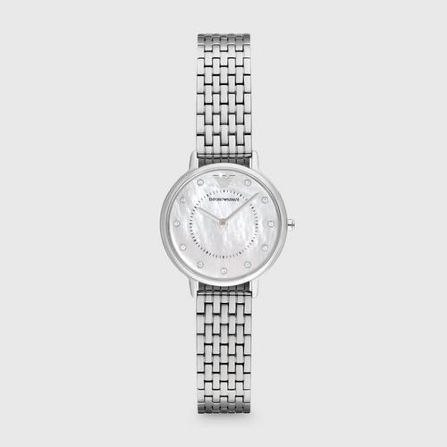 EMPORIO ARMANI Crystal Bracelet Strap Dress Watch 28mm