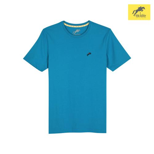 FELIX BÜHLER MEN'S SMART FIT T-SHIRT (TURQUOISE) SIZE S