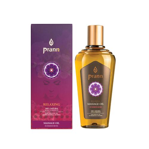 PRANN Relaxing Summer Rose Massage Oil 100 ml
