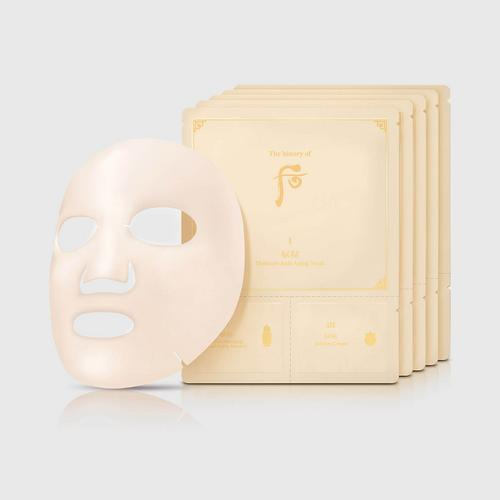 THE HISTORY OF WHOO Bichup Moisture Anti-Aging Mask (3-Step) 5ea